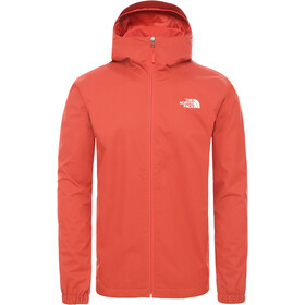 The North Face Quest Jas Heren, sunbaked red dark heather